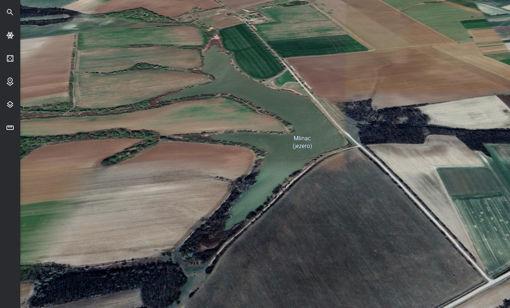 Slika Jezero Mlinac